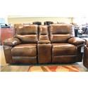 Cheers Montreal Power Reclining Console Loveseat with Power - Item Number: GRP-5888-LOvESEAT