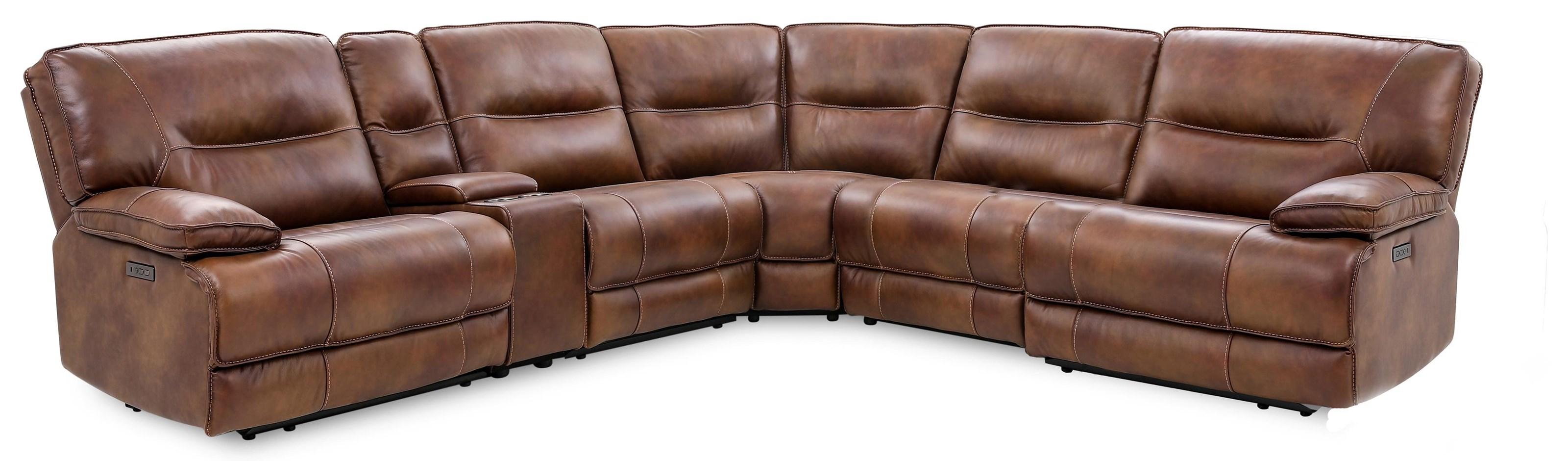 6-Piece Power Reclining Sectional Sofa