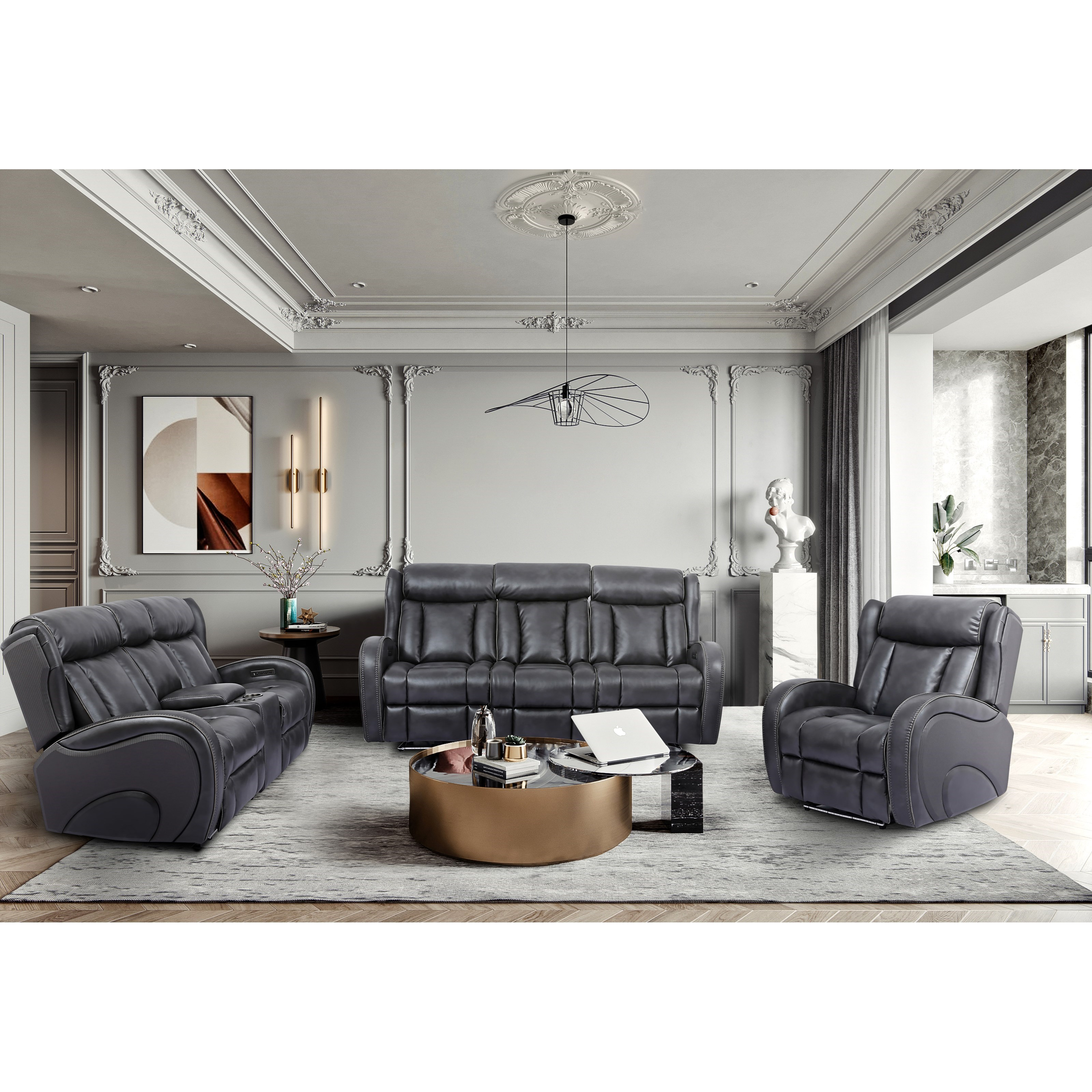 70083 Power Reclining Living Room Group by Cheers at Lagniappe Home Store