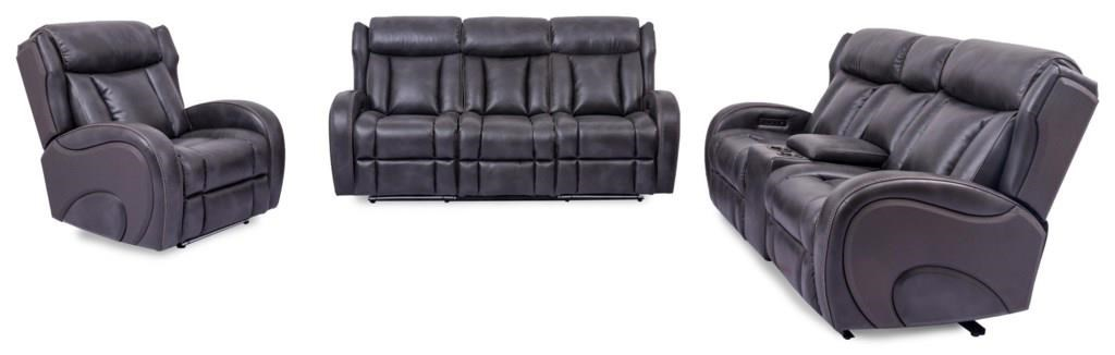 3 PC Power Reclining Living Room Set