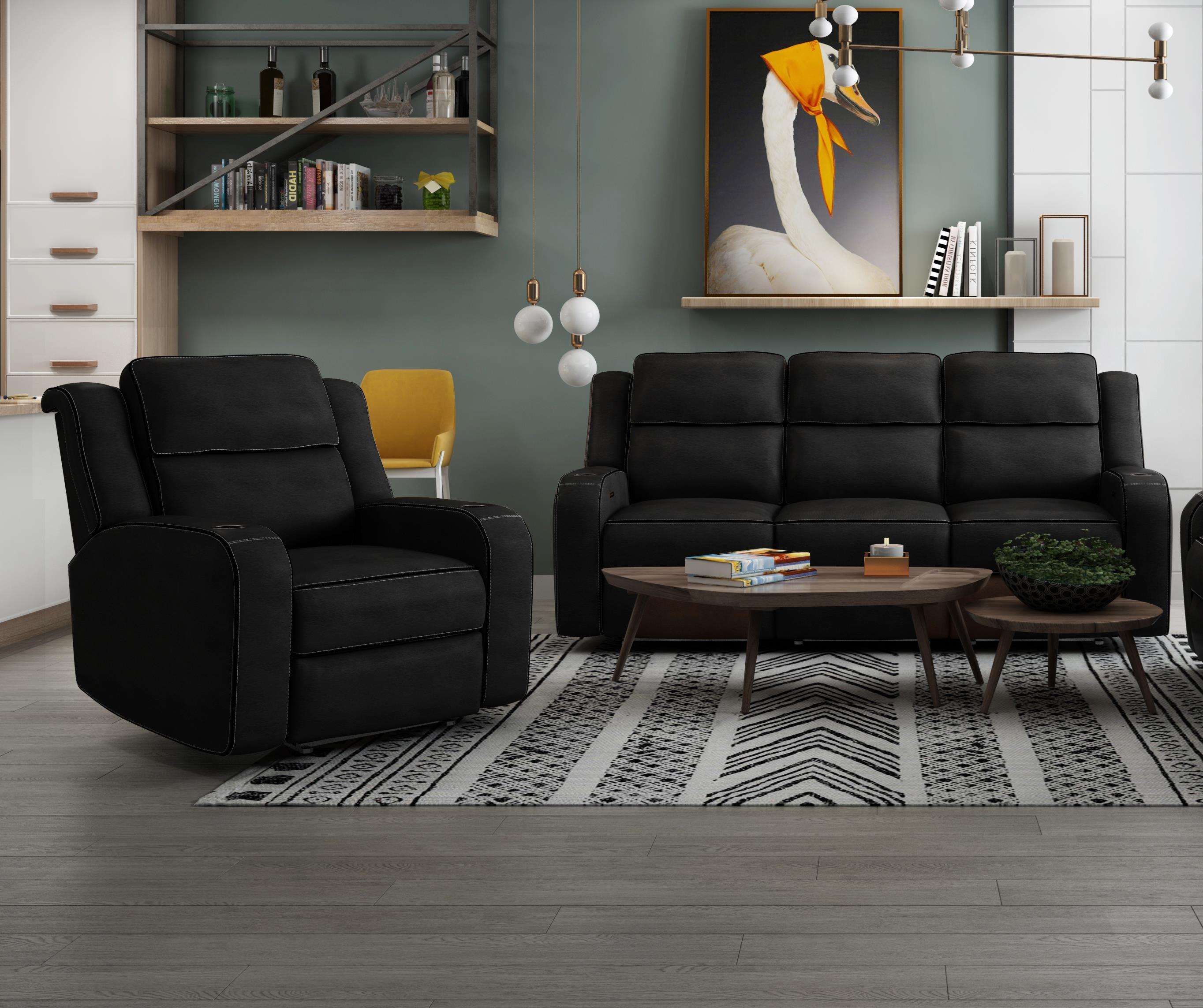 2 PC Power Reclining Living Room Set
