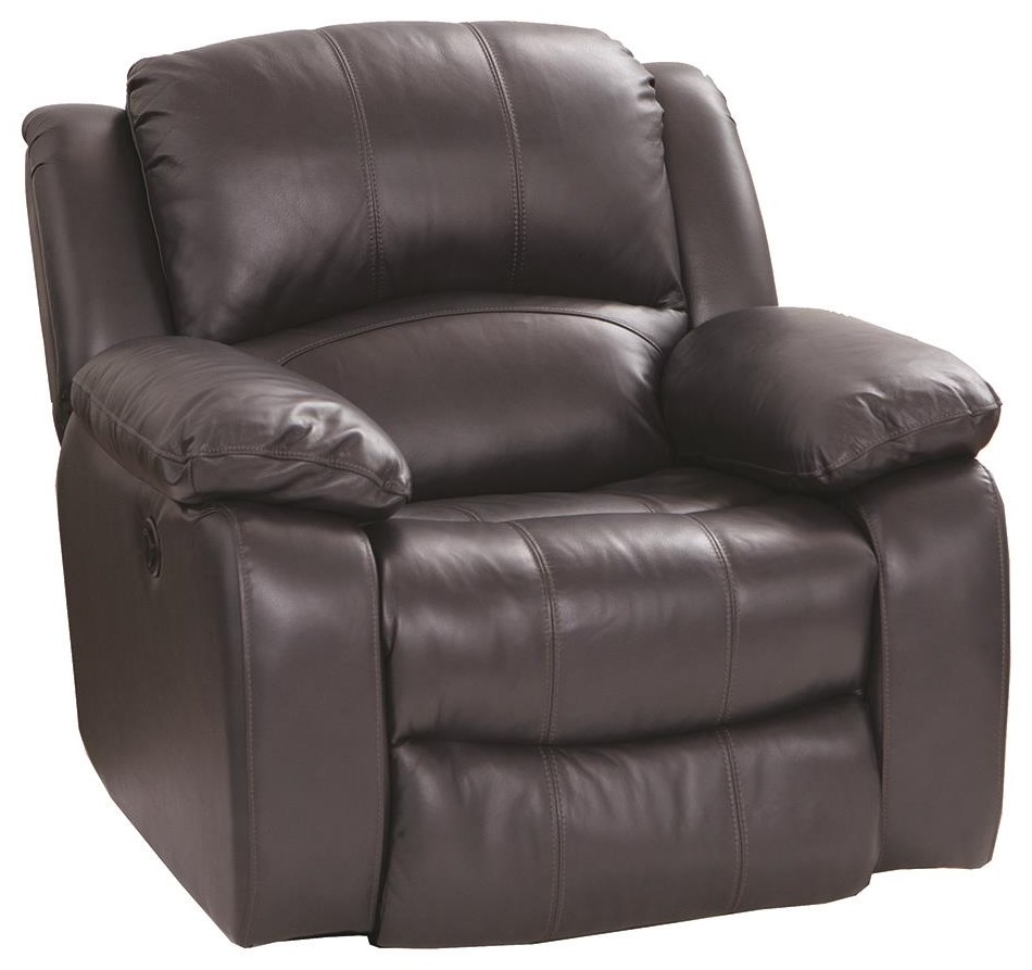 8251 Leather Match Power Recliner by Cheers at Darvin Furniture