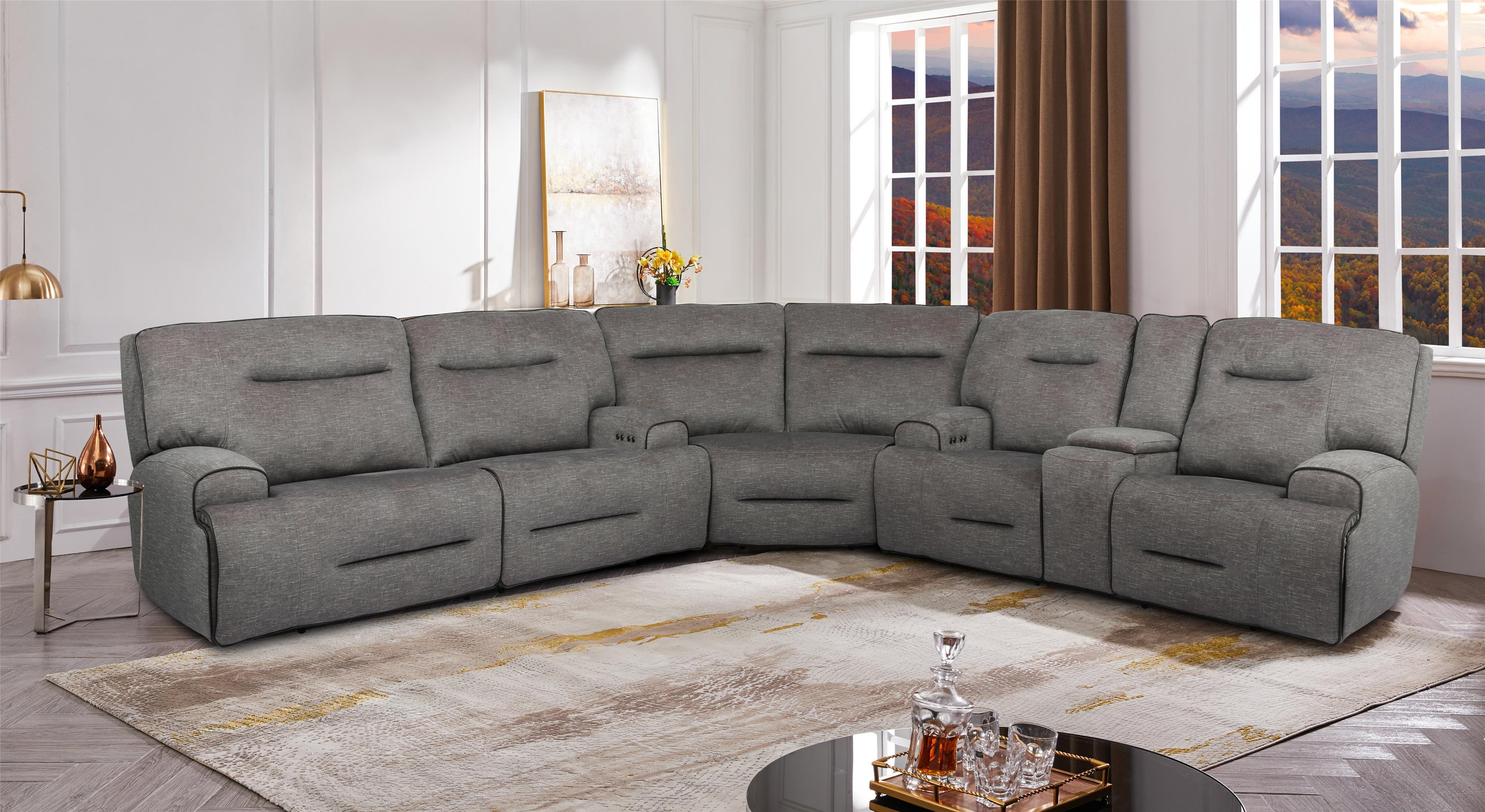 90016 Power Sectional by Cheers at Westrich Furniture & Appliances