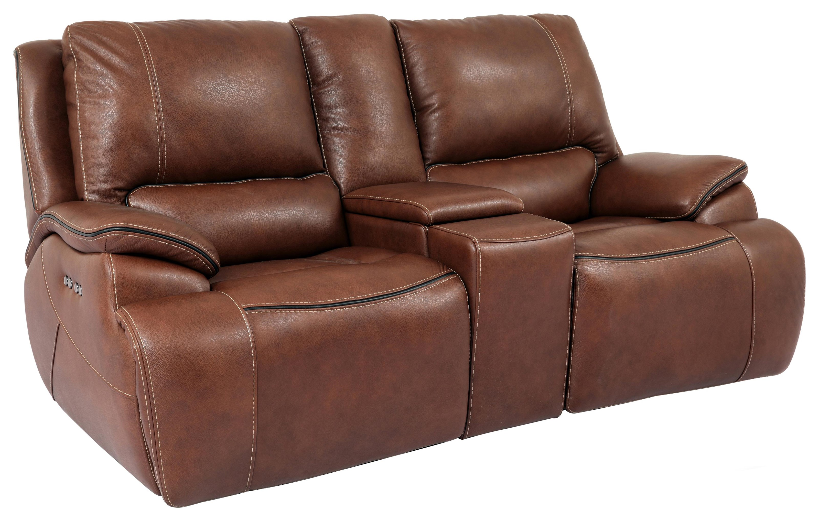 Power Reclining Loveseat w/ Cupholder