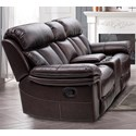 Cheers Johnstone Power Reclining Console Loveseat - Item Number: 9597-AL-1E+HCE+AR-1E 2043D