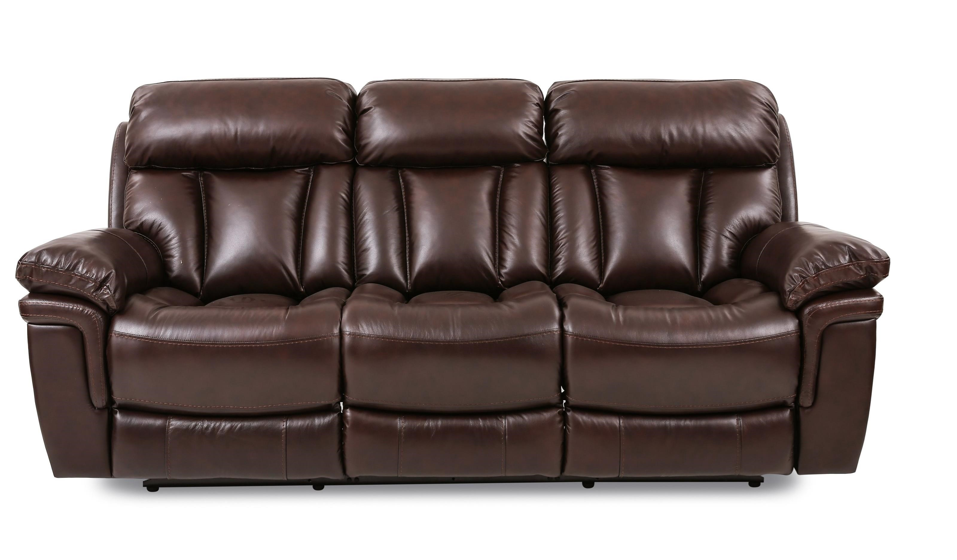 Bryant POWER HD/FT LEATHER Reclining Sofa at Walker's Furniture
