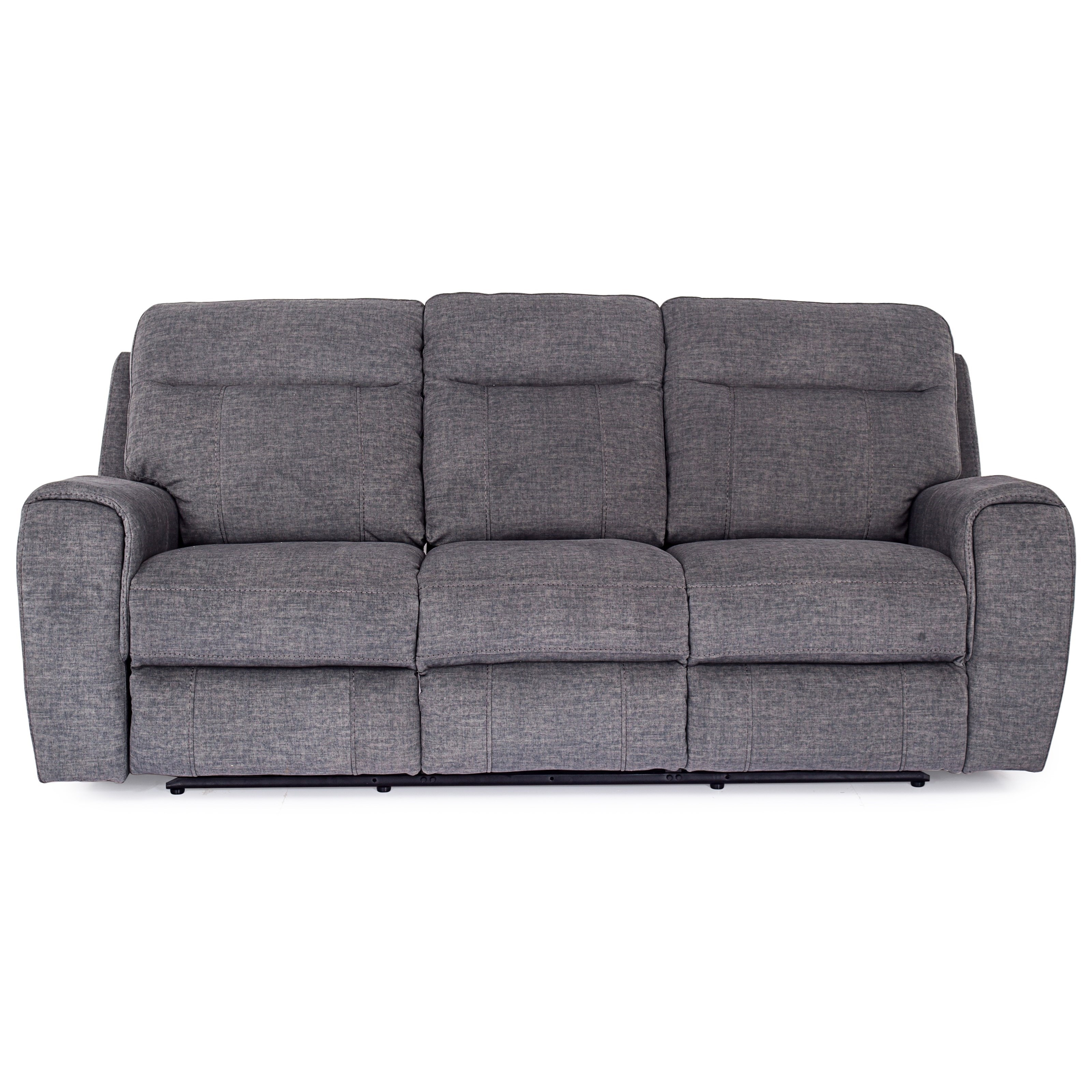 9868 Reclining Sofa w/ Power Headrests at Pilgrim Furniture City