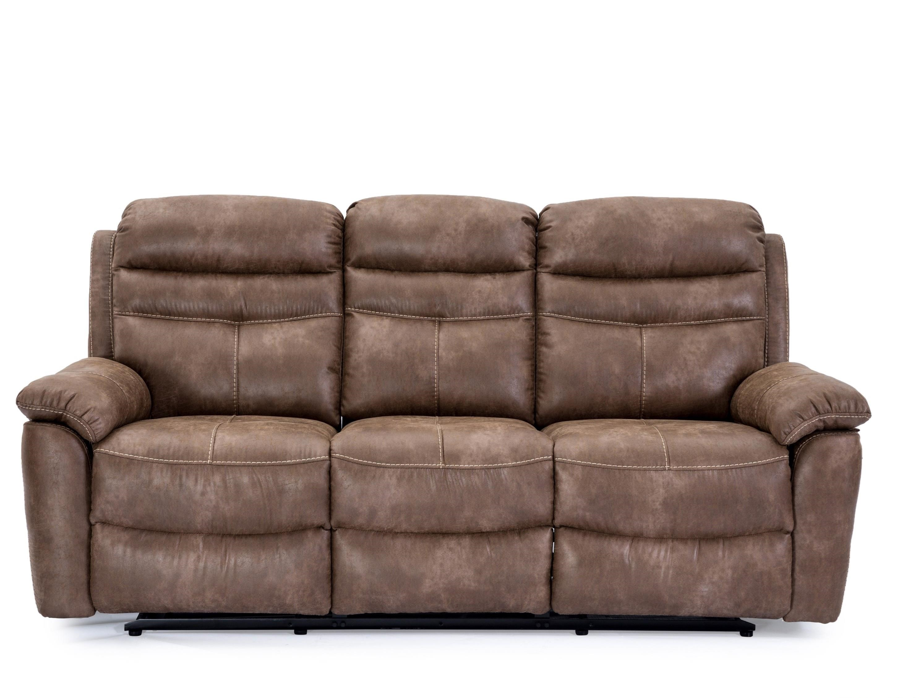 9939 Wallhugger Dual Reclining Sofa by Cheers at Household Furniture
