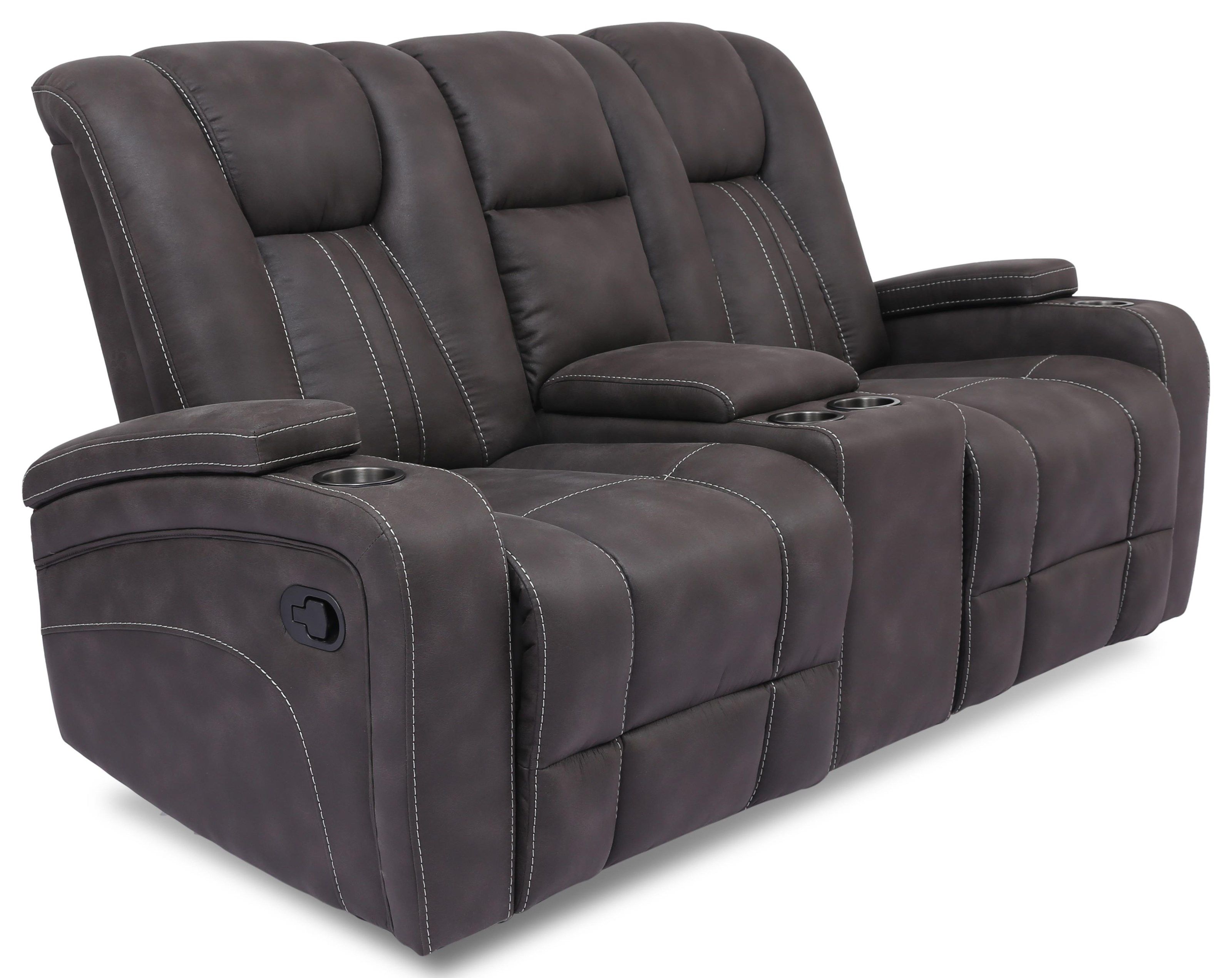 9990M Glider Reclining Loveseat with Console by Cheers at Furniture Fair - North Carolina
