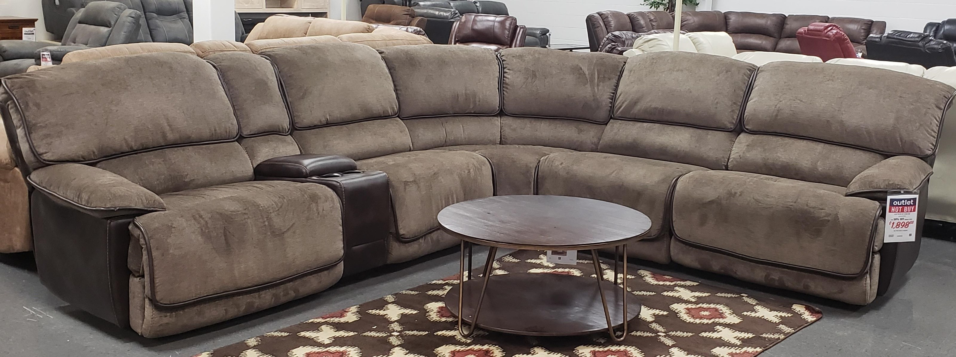 Clyde Power Sectional Sofa