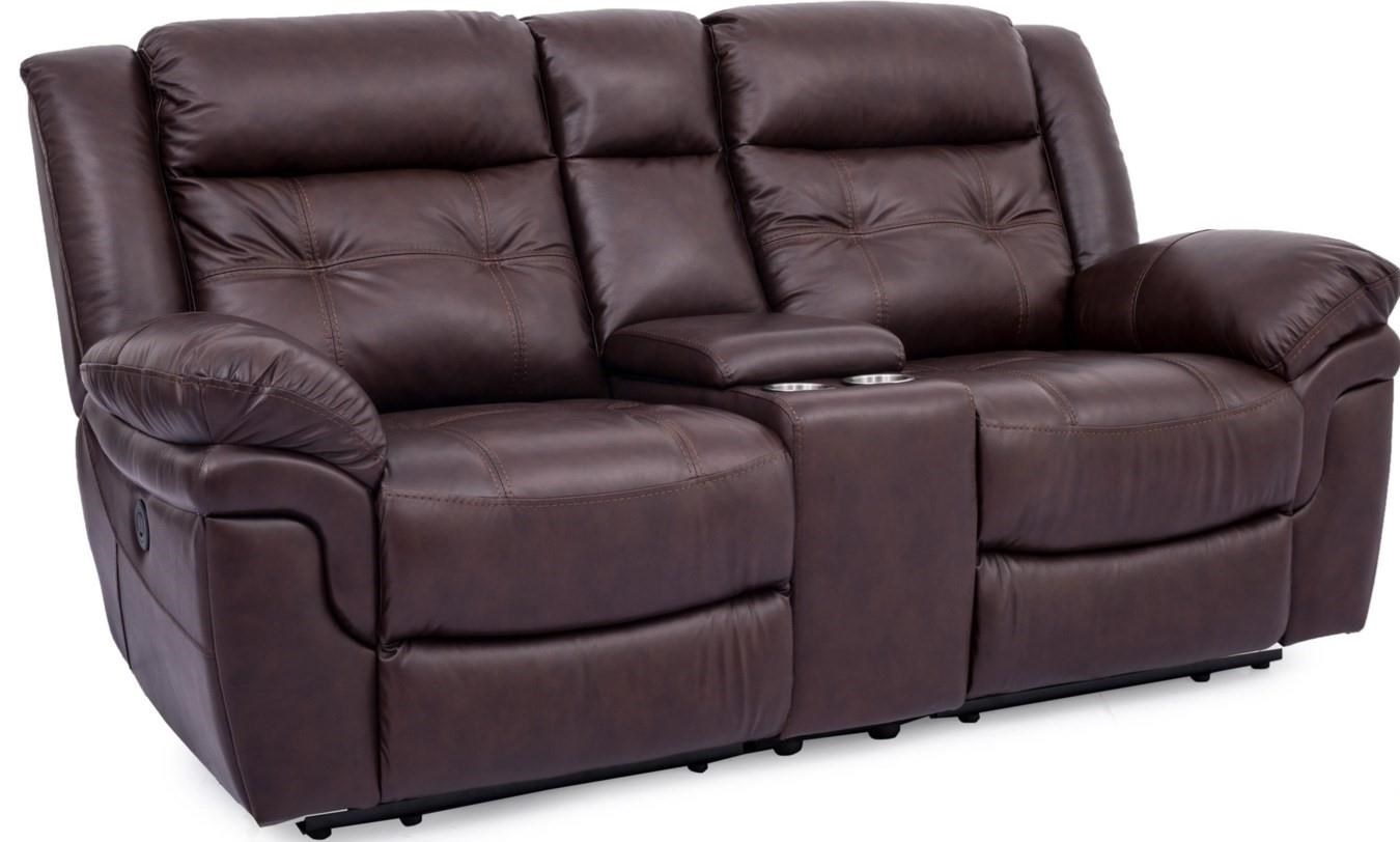Harkin Reclining Loveseat with Console