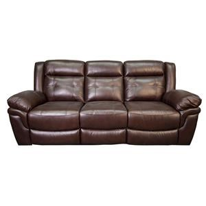 Henson Leather Match Power Sofa