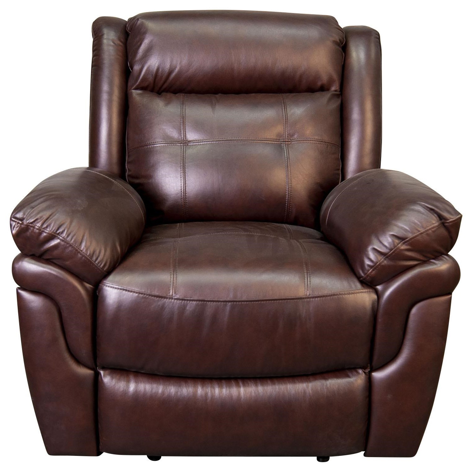 Henson Leather Match Power Recliner