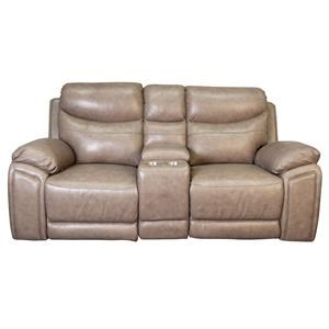 Jarvis Power Loveseat with Console