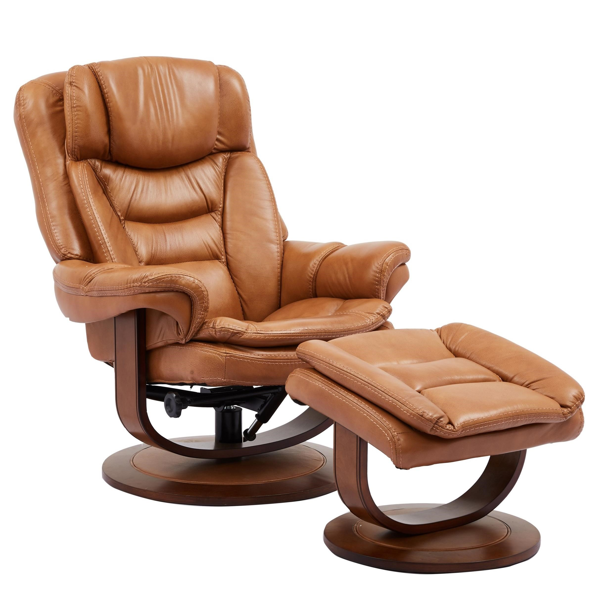 Contemporary Reclining Chair and Ottoman