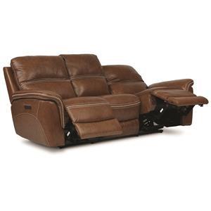 Neville Leather Power Sofa
