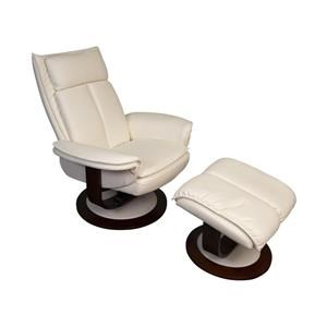 Omar Swivel Recliner with Ottoman