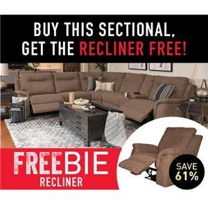 Pratt Sectional Sofa with Freebie!