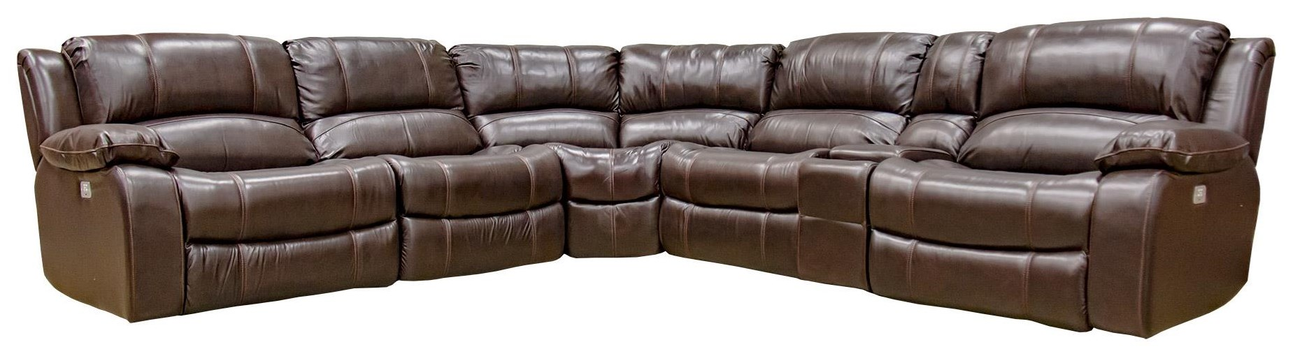 6-pc. Power Reclining Sofa with USB