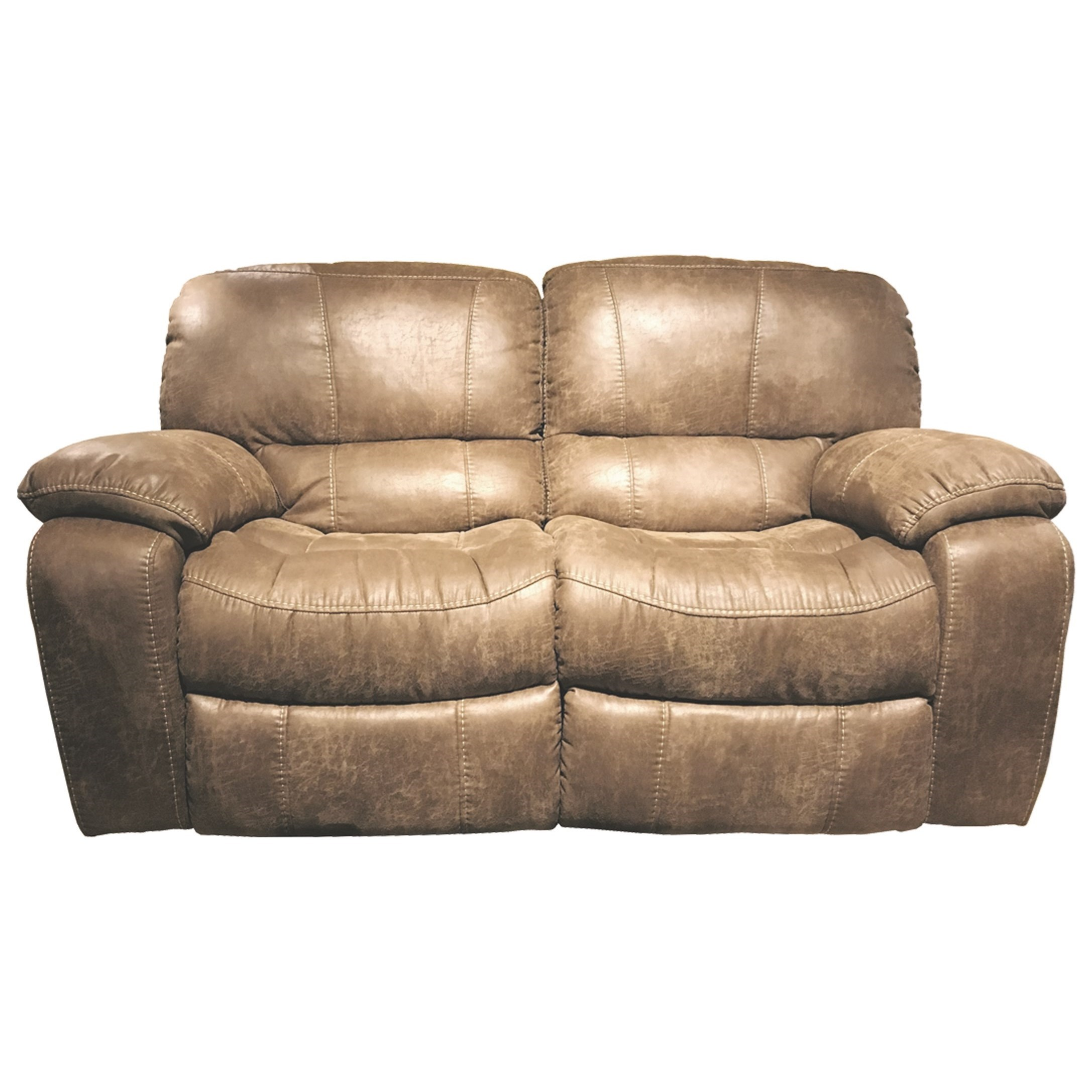 Picture of: Dual Reclining Love Seat With Pillow Arms Sadler S Home Furnishings Reclining Loveseats