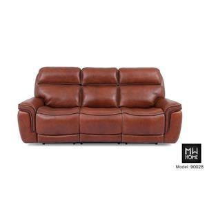 Power Leather Sofa with Power Headrest