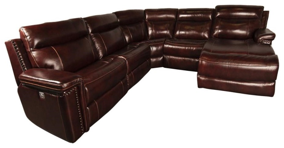 Morris Home Mckenzie Mckenzie Power Sectional Sofa - Item Number: 087543770
