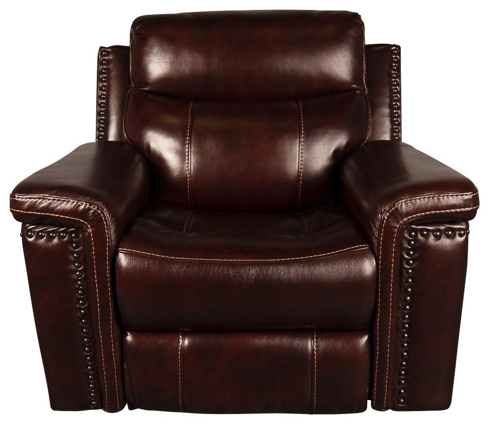 Mckenzie Leather Match Power Recliner