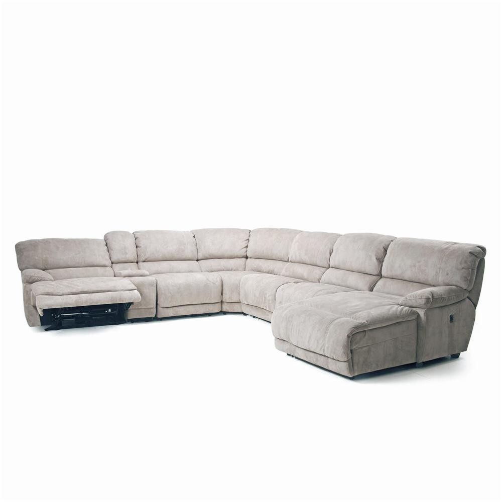 Choices Ii 8532 Modular Reclining Sectional Option Walker S Furniture Sofas