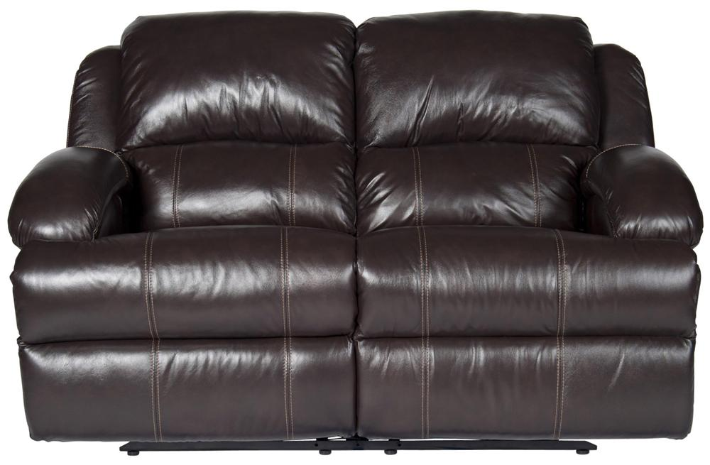 Morris Home Furnishings Jamar Jamar Pwr Leather-Match* Recl Loveseat - Item Number: 106249366
