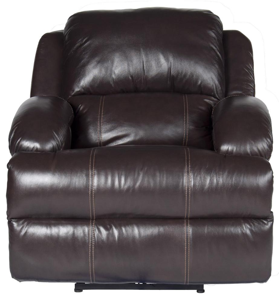 Morris Home Furnishings Jamar Jamar Power Leather-Match* Recliner - Item Number: 197249335
