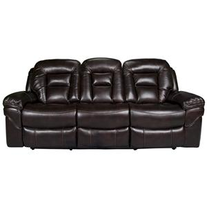 Morris Home Derek Derek Power Leath-aire Reclining Sofa