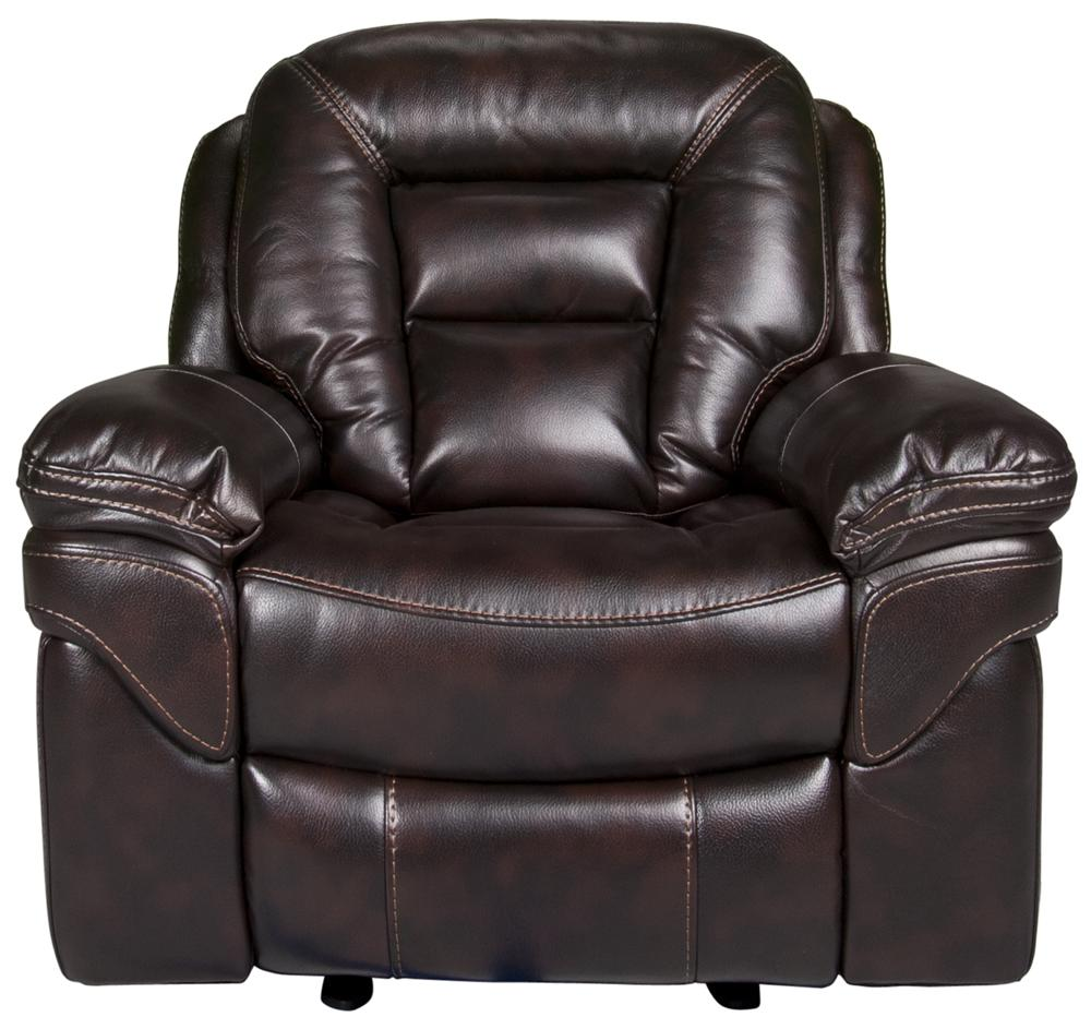 Morris Home Derek Derek Leath-aire Glider Recliner - Item Number: 108823700