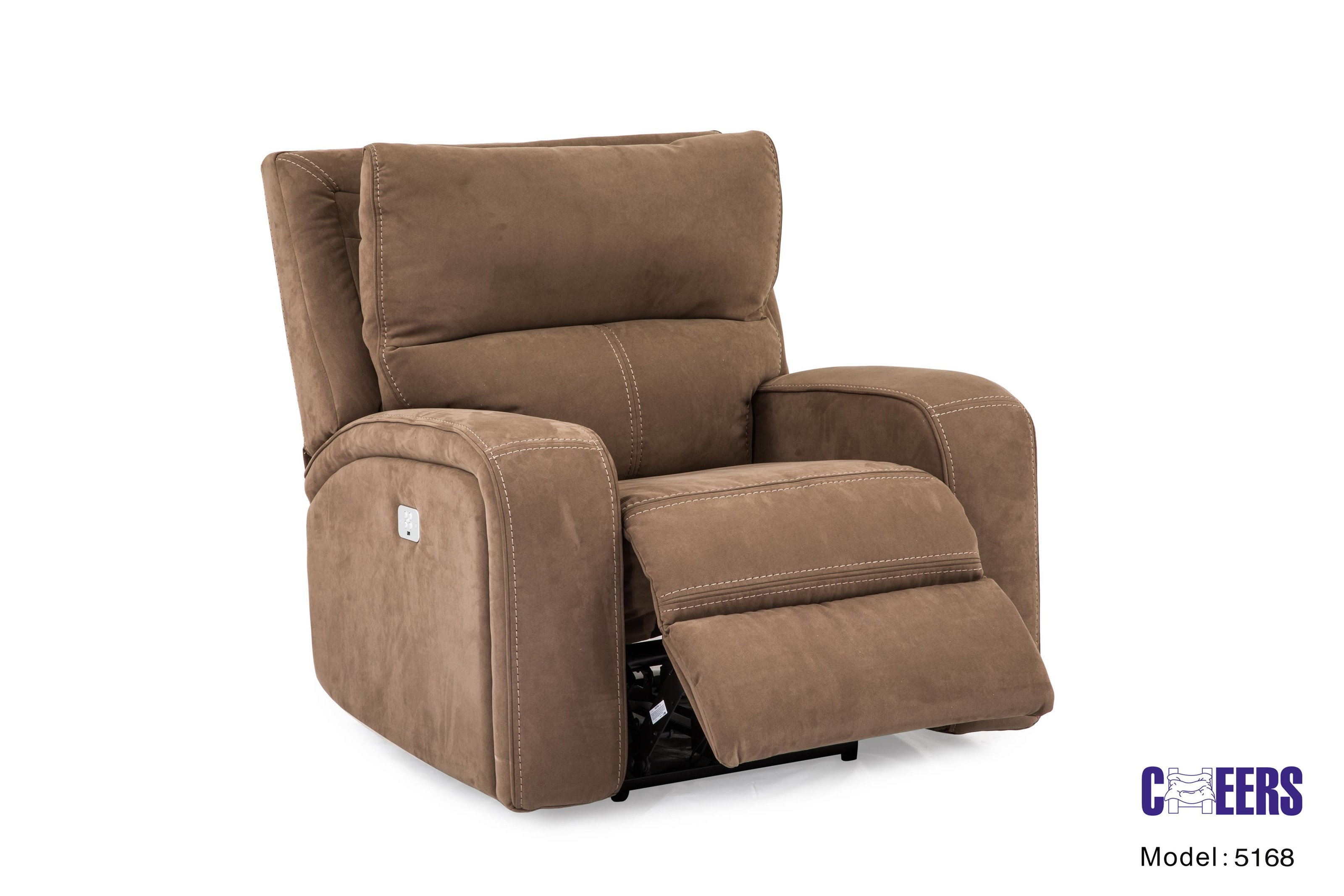 Cheers Sofa 5168m Motion High Back Recliner With Power