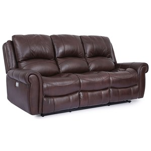 Cheers McCarthy Leather Power Reclining Sofa