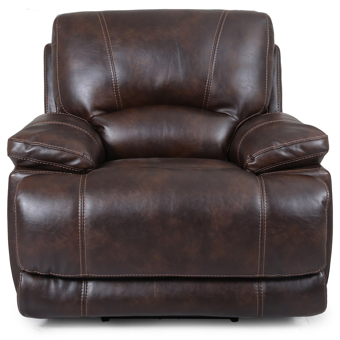 Cheers Sofa 5185 Power Recliner - Item Number: 5185-1 Shelter Brown