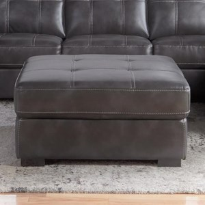 Cheers Sofa 5312 Tufted Square Ottoman