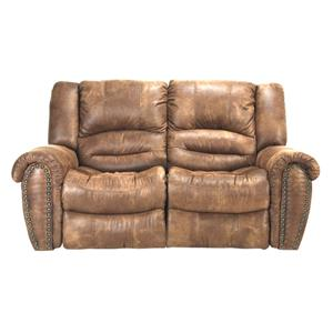 Cheers Sofa 8295 Microfiber Reclining Loveseat
