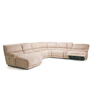 Cheers Sofa X8698 Reclining Sectional Sofa  sc 1 st  BigFurnitureWebsite : cheers sectional sofa - Sectionals, Sofas & Couches