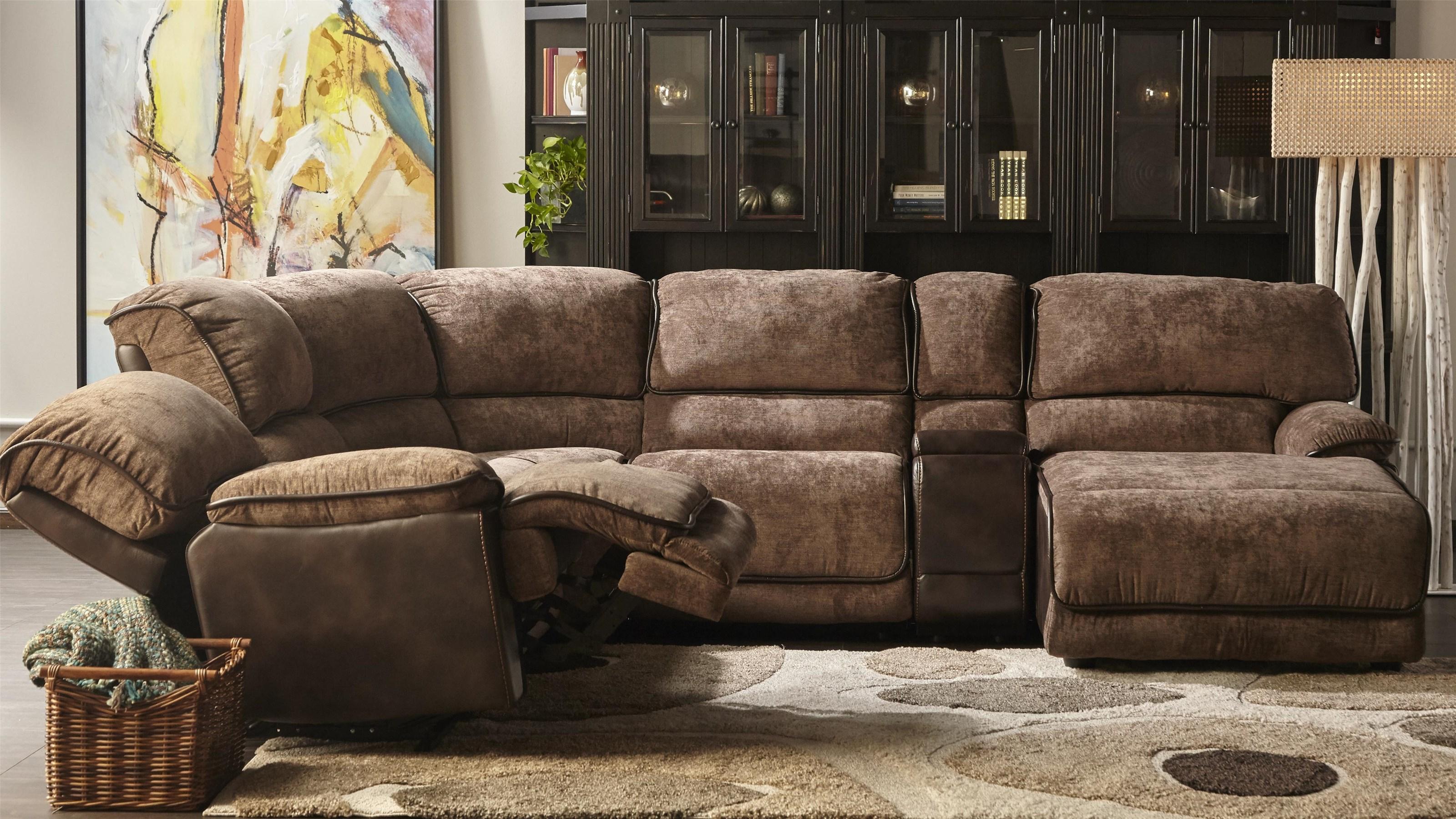 Cheers 8706m Casual Sectional Sofa Westrich Furniture