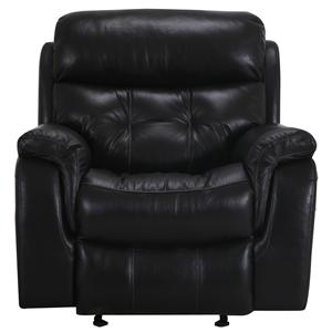 Cheers Sofa 9021  Leather Glider Recliner