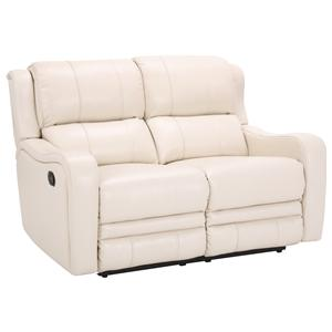Cheers Sofa 9022 Dual Power Reclining Loveseat With Contemporary Furniture Style