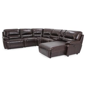 Cheers Sofa 9160 Reclining Sectional