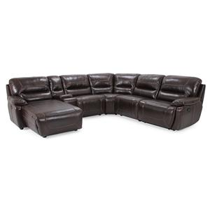 Cheers Sofa RXW9160M Reclining Sectional