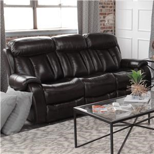 Cheers Pearce Leather Double Reclining Sofa