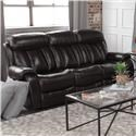 Cheers Pearce Leather Double Reclining Sofa - Item Number: 9528-2546-DRS