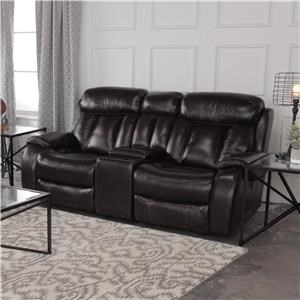 Cheers Sofa Pearce Reclining Loveseat with Console
