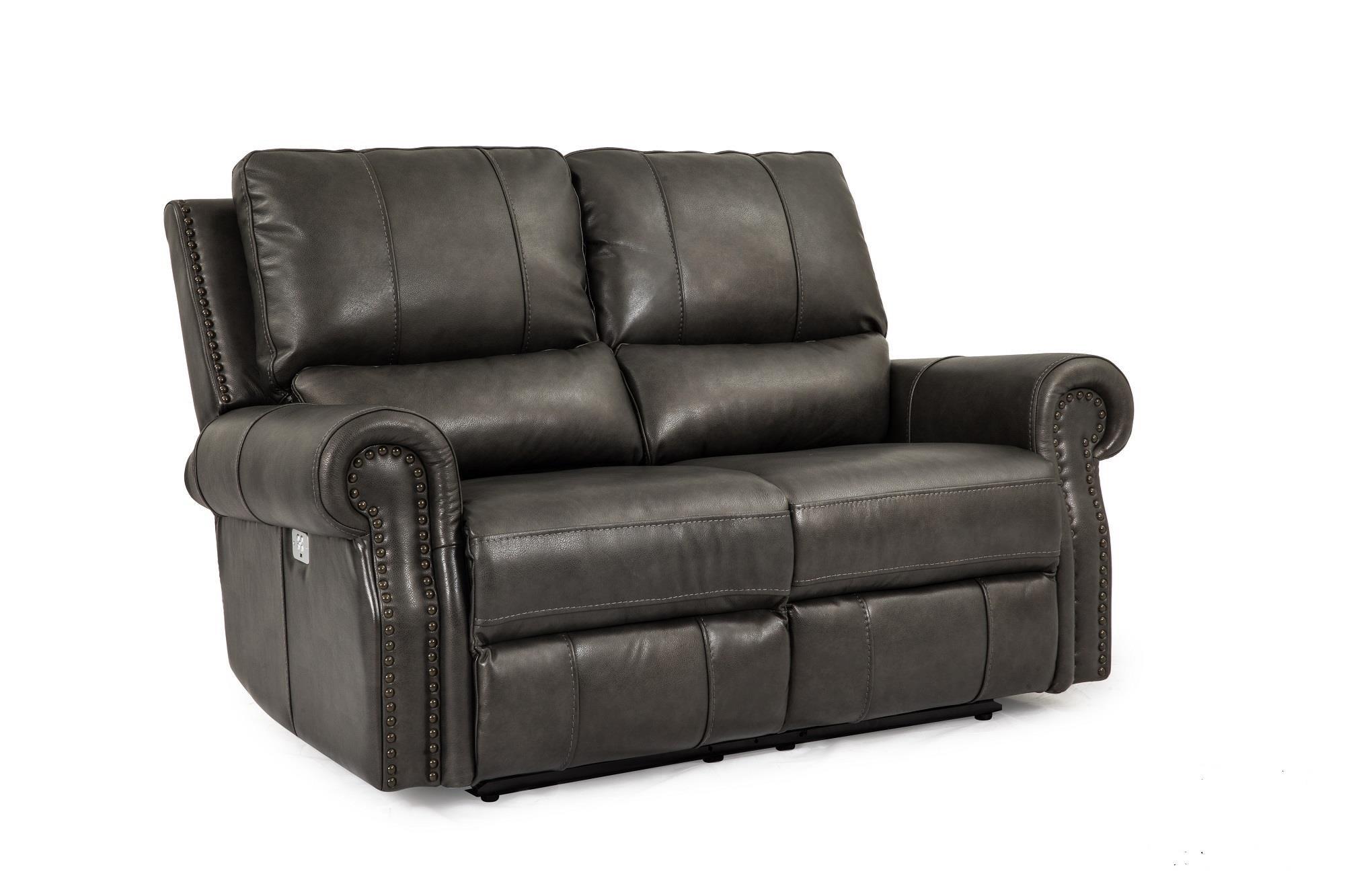 Cheers Sofa Steel Reclining Loveseat w/Pwr Head & Foot - Item Number: UXW9919HM L2-2EH 30604