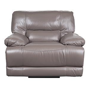 Morris Home Baylor Baylor Leather-Match* Power Recliner