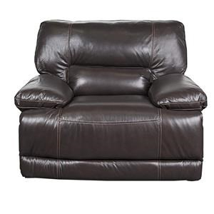Morris Home Furnishings Baylor- Baylor Leather-Match* Power Recliner