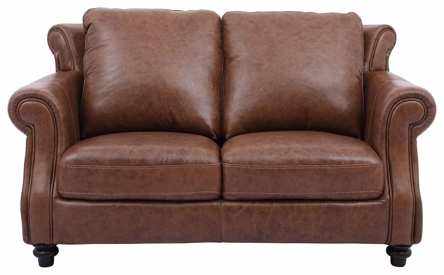 Cheers Sofa C2115 100% Leather Loveseat - Item Number: C2115-L2011346